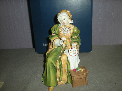Royal Doulton figure - King Henry VIII wives -ANNE OF CLEAVES  -  HN3356 Ltd Ed