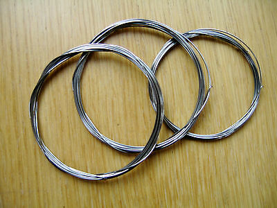 Piano Music Wire-3 metre Length-Broken String Replacement-Selection of 3 Sizes