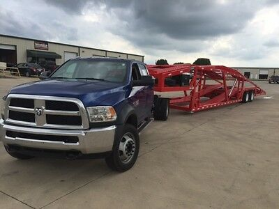 2016 Ram 5500 4x4 and 2016 5 Car Infinity Trailer
