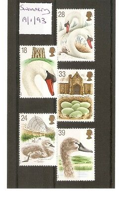 MNH FULL SETS. 600th Anniversary of Abbotsbury Swannery, 19-01-1993.  SEE SCAN