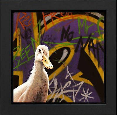No Name Limited Edition Framed Box Canvas By Paul James