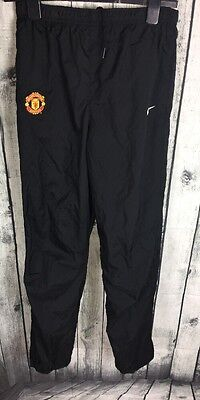 Boys Designer Nike Manchester United Tracksuit Bottoms Sports Age 13 15 Yr  *33*