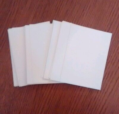 Bundle of 30 blank aceo art trading cards. 300g watercolour paper 2.5 x 3.5 inch