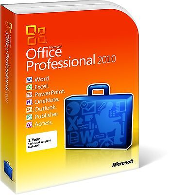 MICROSOFT OFFICE 2010 Professional Plus 1PC full for Windows Lifetime licence