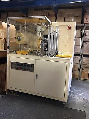 Solstice Silo TS 2002 Overwrapping Machine