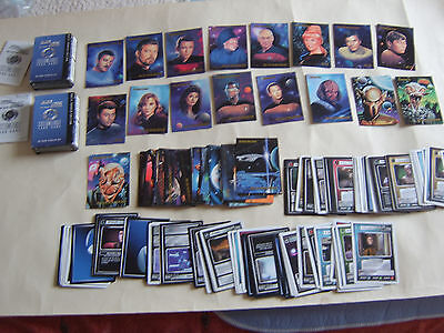 Approx 220 Mixed Star Trek Trading / Gaming Cards Inc Rare Limited Edition Set