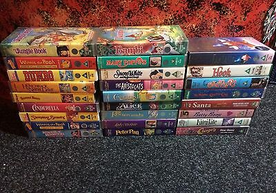 29 children's videos mostly Disney great condition VHS tapes