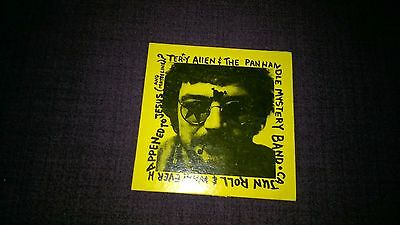 Terry Allen & The Panhandle Mystery Band Cajun Roll 1979 Usa
