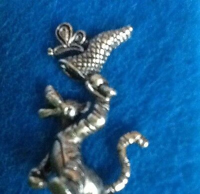 Disney TIGGER of Winnie The Pooh 3 D Three Dimensional Accessory PIN NEW Silver