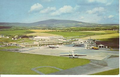 DOUGLAS, Isle of Man Airport. c1960s. Airport & Airplanes . VGC