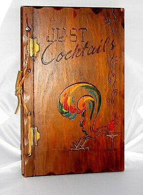 Just Cocktails 1939 Antique Book Three Mountaineers Mixed Drinks Recipes