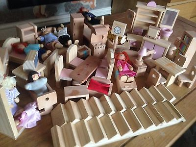 Hand Made Dolls House Furniture