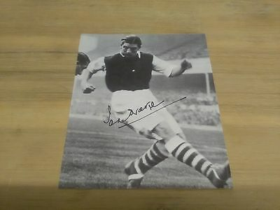 Ted Drake Signed Arsenal Photograph (Very Rare).