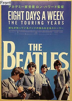 The Beatles Eight Days A Week The Touring Years Promotional Poster (Japanese) B