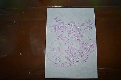 A4 Iron-on' embroidery transfer