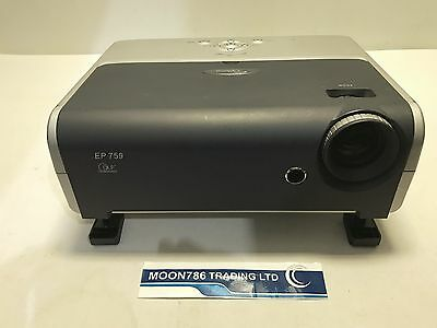 Optoma Ep759 Dlp Projector Used 2469 Lamp Hours Multimedia Image Ok   Ref:992