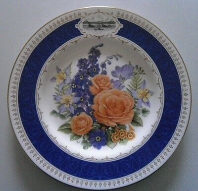 Chelsea Flower Show Plate 1988 - Royal Worcester