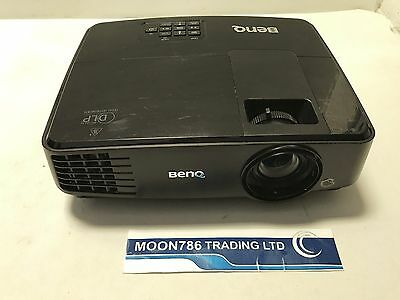 Benq Ms504 Dlp Projector Used 2122 Lamp Hours Good Image Projector   Ref 993
