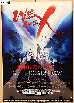 We Are X: X Japan's documentary film Promotional Poster