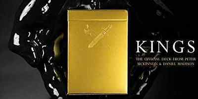'MARKED' KINGS Deck Of Quality Playing Cards by ELLUSIONIST - MINT SEALED OOP