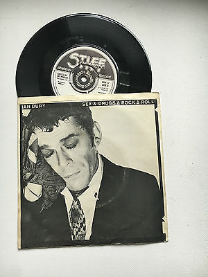 Ian Dury - Sex Drugs & Rock And Roll 7'' Record