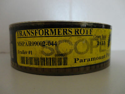 Transformer's ROTF 35mm Movie Trailer #1  film cells collectible   Scope 2:15