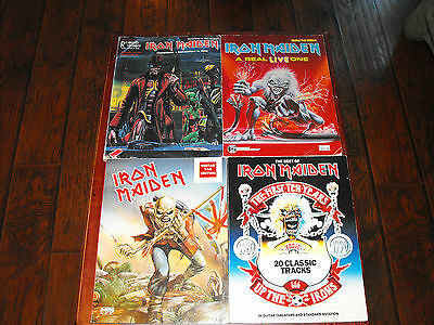Lot of 4 Iron Maiden guitar tab books