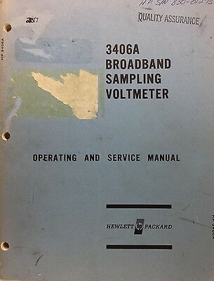 HP 3336A Operating And Service Manual