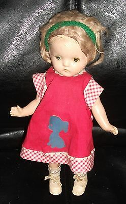 Vintage Composition Patsy Ann Type Doll With Extra Clothes So Cute