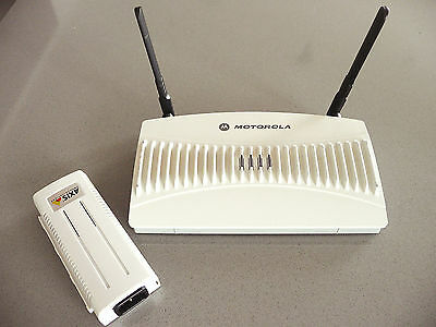Motorola Symbol AP5131 Wireless Access Point AP-5131 with PoE Adapter