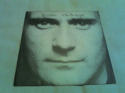"""Phil Collins, """"In The Air Tonight 1981"""" Vinyl 7"""" Single"""