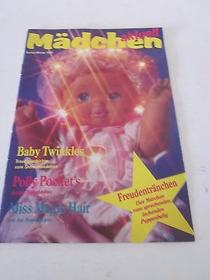 Matell, Puppen, Mädchen aktuell, Baby Twinkles, Polly Pockets Magic Hair,  1991
