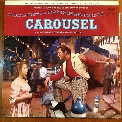 Rodgers And Hammestein = Carousel. ( Motion Picture Soundtrack In Exc. Cond.