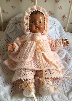 New hand knitted dolls clothes  15 or 16 inches
