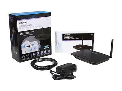 Linksys AC 1200 Max (RE6500) Dual Band Wi-Fi Range Extender, New in Retail Box!