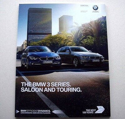 BMW . 3 . The BMW 3 Series Saloon and Touring . March 2016 Sales Brochure
