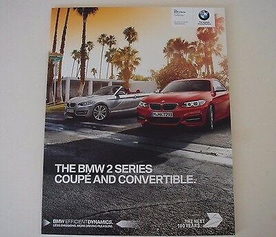 BMW . 2 . The BMW 2 Series Coupe & Convertible . July 2016 Sales Brochure