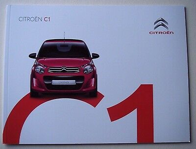 Citroen . C1 . Citroen C 1 . August 2016 Sales Brochure