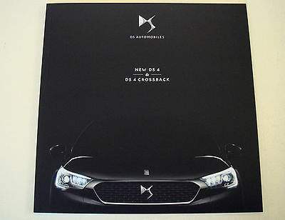 Citroen . DS 4 . New DS 4 and DS 4 Crossback . November 2015 Sales Brochure