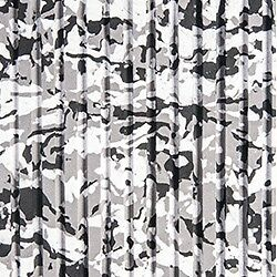 Traction mat sheet / Carpet /Pads with adhesive *White Camo Cut Groove*