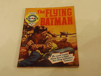 AIR ACE PICTURE LIBRARY,NO 74,1961 ISSUE,GOOD FOR AGE,56 yrs old,V RARE COMIC.