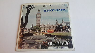 Viewmaster packet set 3d England C3201 Nations of the World