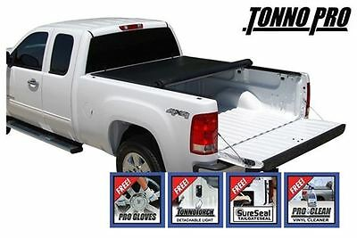 TonnoPro Roll Up Tonneau Cover 15 Chevy Silverado 2500/3500 6.6'ft Short Bed