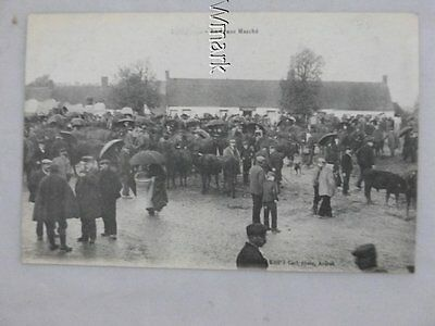 Le Franc Marche,Early French Cattle Market scene C1920 ?