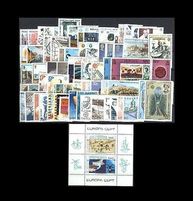 Cept Europa 1983 ** annata completa MNH beautiful and complete collection