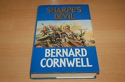 Bernard Cornwell SHARPE'S DEVIL 1st edition 1st printing hardback book 1/1 first