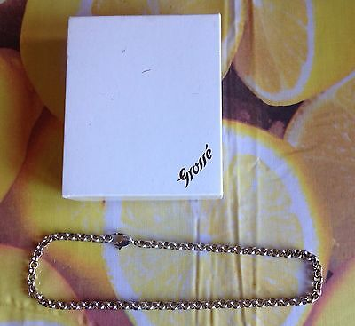 Grosse Vintage Silver Necklace With Original Box