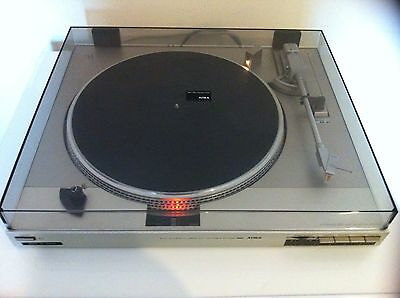 Aiwa Hi-Fi Full Automatic Linear D.d. Turntable System Model D60 Made In Japan