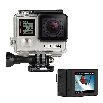 GoPro HERO4 Black Action Camera Rigenerata Certificata + LCD Touch BacPac Nuovo