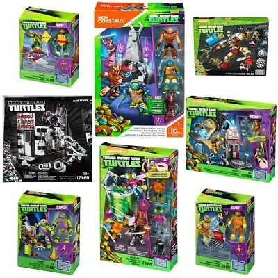 Mega Bloks Official Tmnt Out Of Shadows Half Shell Heroes Assortment